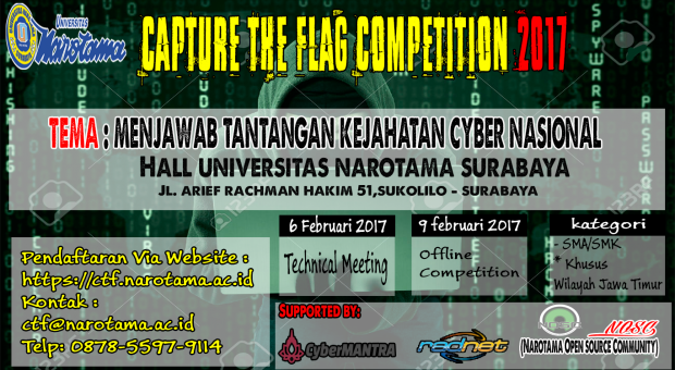LOMBA CTF COMPETITION 2017